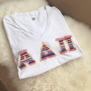 Αlpha Delta Pi Letter Shirt